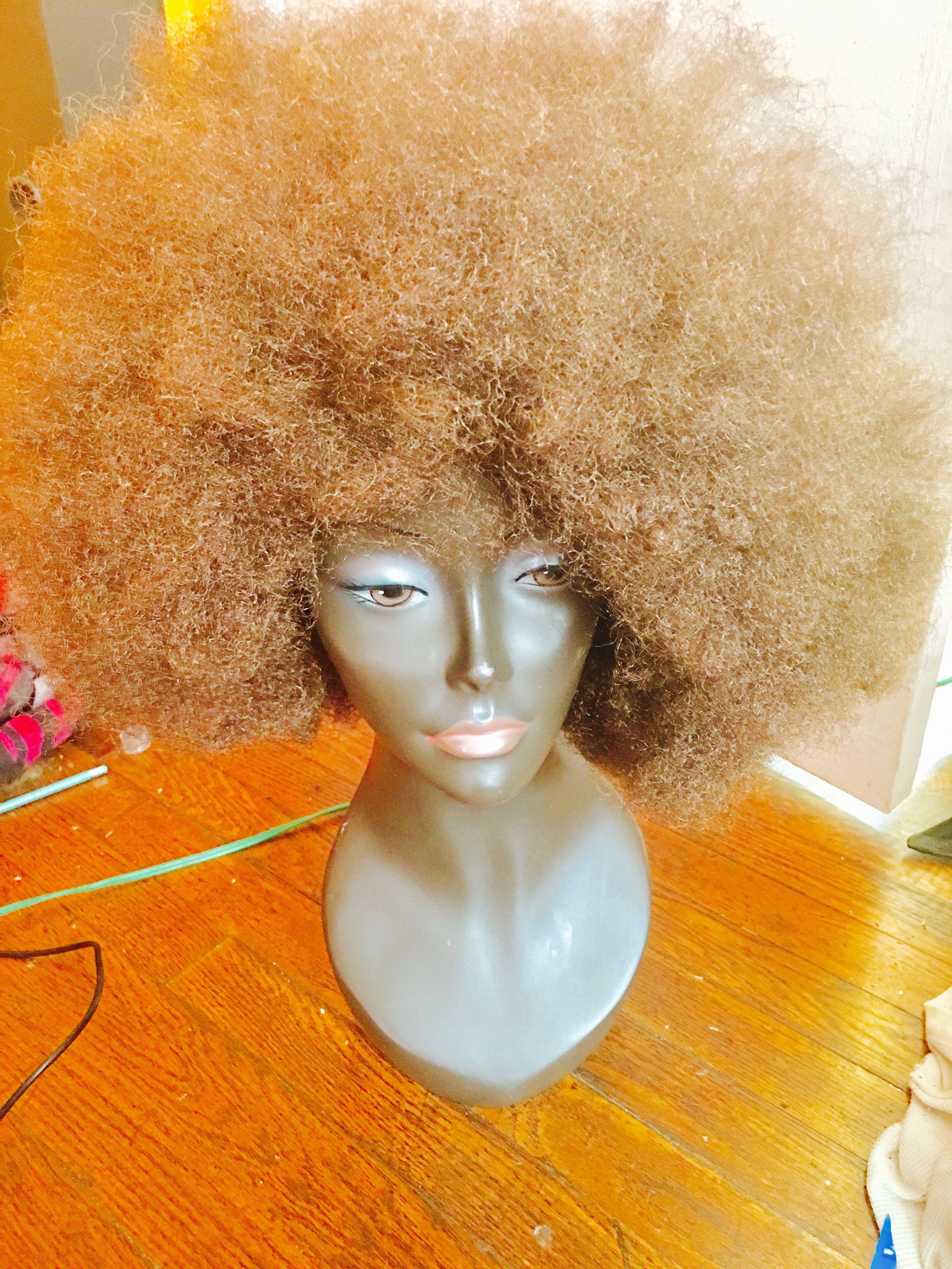 Astro Island Locs Cocoa Girl Huge Afro Wig Unit Instagram
