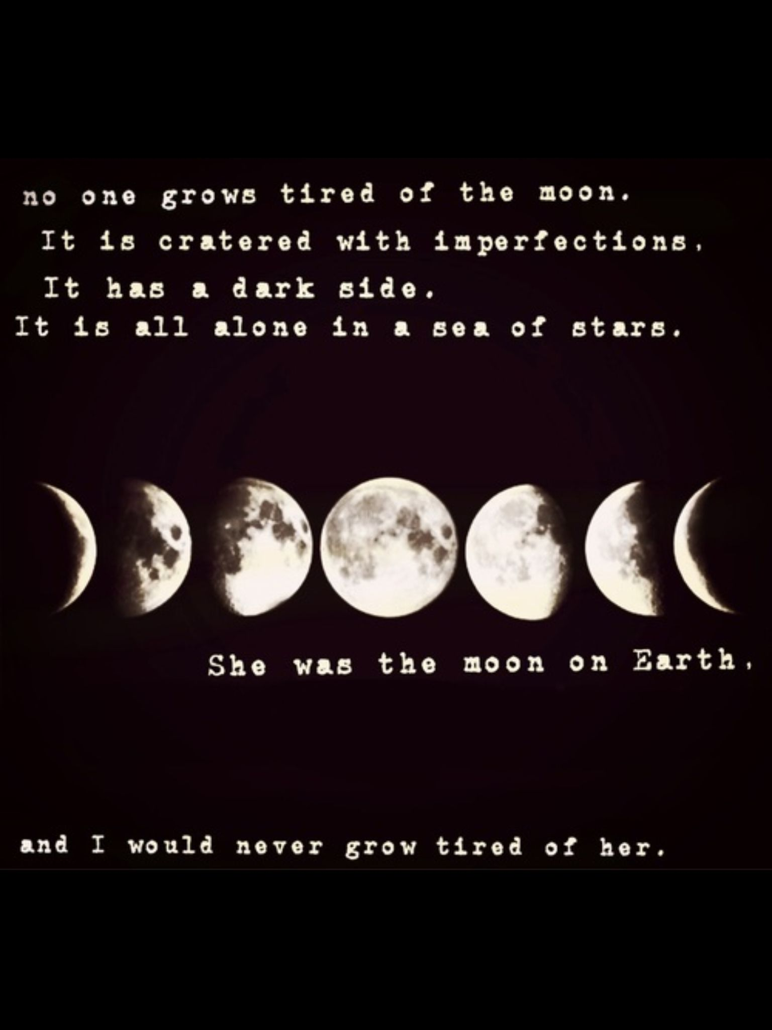 Quotes About Full Moon She Was Like The Moon  Words And Inspiration  Pinterest  Moon