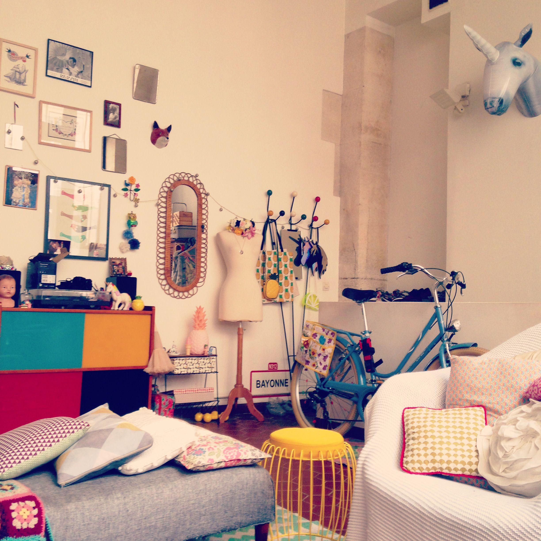 Home sweet home ❤ #home #deco #unicorn #licorne #vintage ...