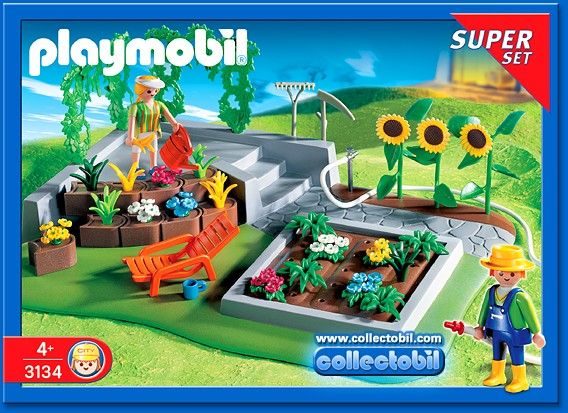 Playmobil 3134 playmobil pinterest gardens for Piscine playmobil