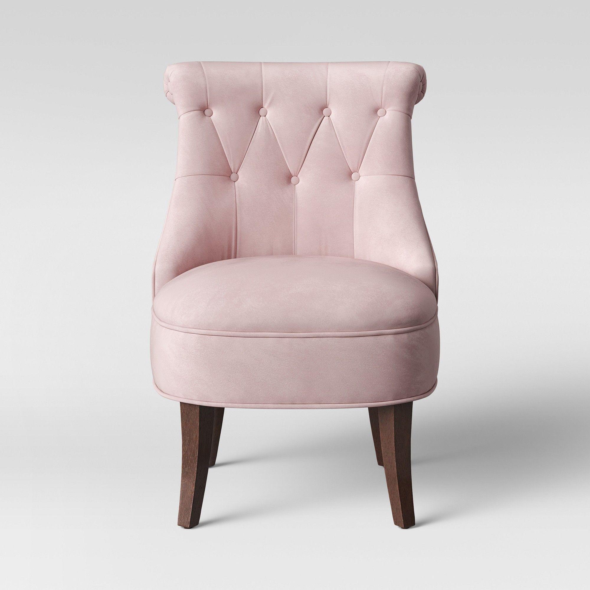 Kohls Light Purple Accent Designed Chair: Nerine Tufted Rollback Accent Chair Velvet Light Purple