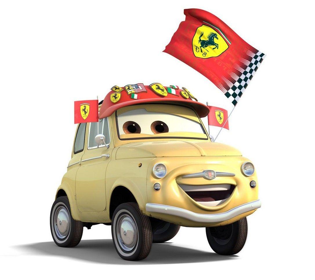 Cars Pixar Fiat 500 Compact Car City Car Pixar Cars Car Hd