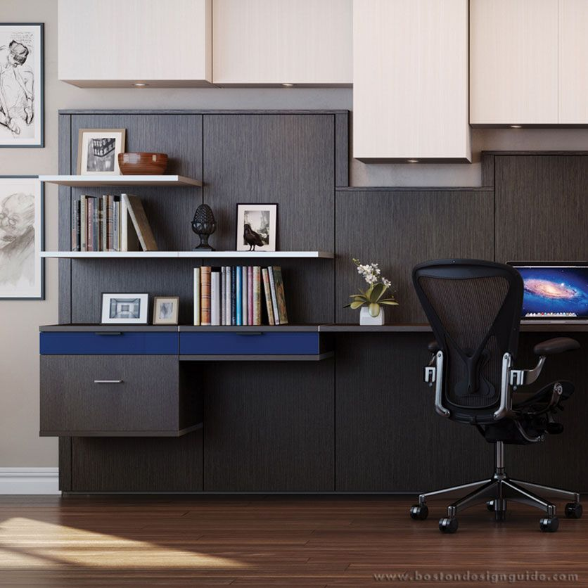 Virtuoso office by california closet company inc home - Home office closet ideas ...