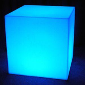 Charming Illume Light Up Cube. Weinhardt Party Rentals.