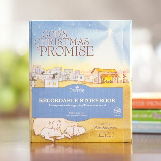 Recordable Christmas Books.God S Christmas Promise Recordable Story Book Christian