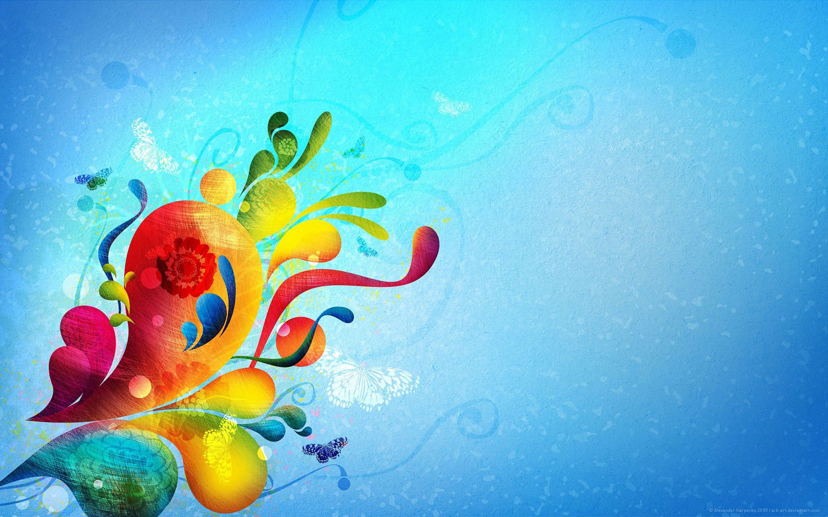 Abstract Art Butterfly Desktop Background Images #82821