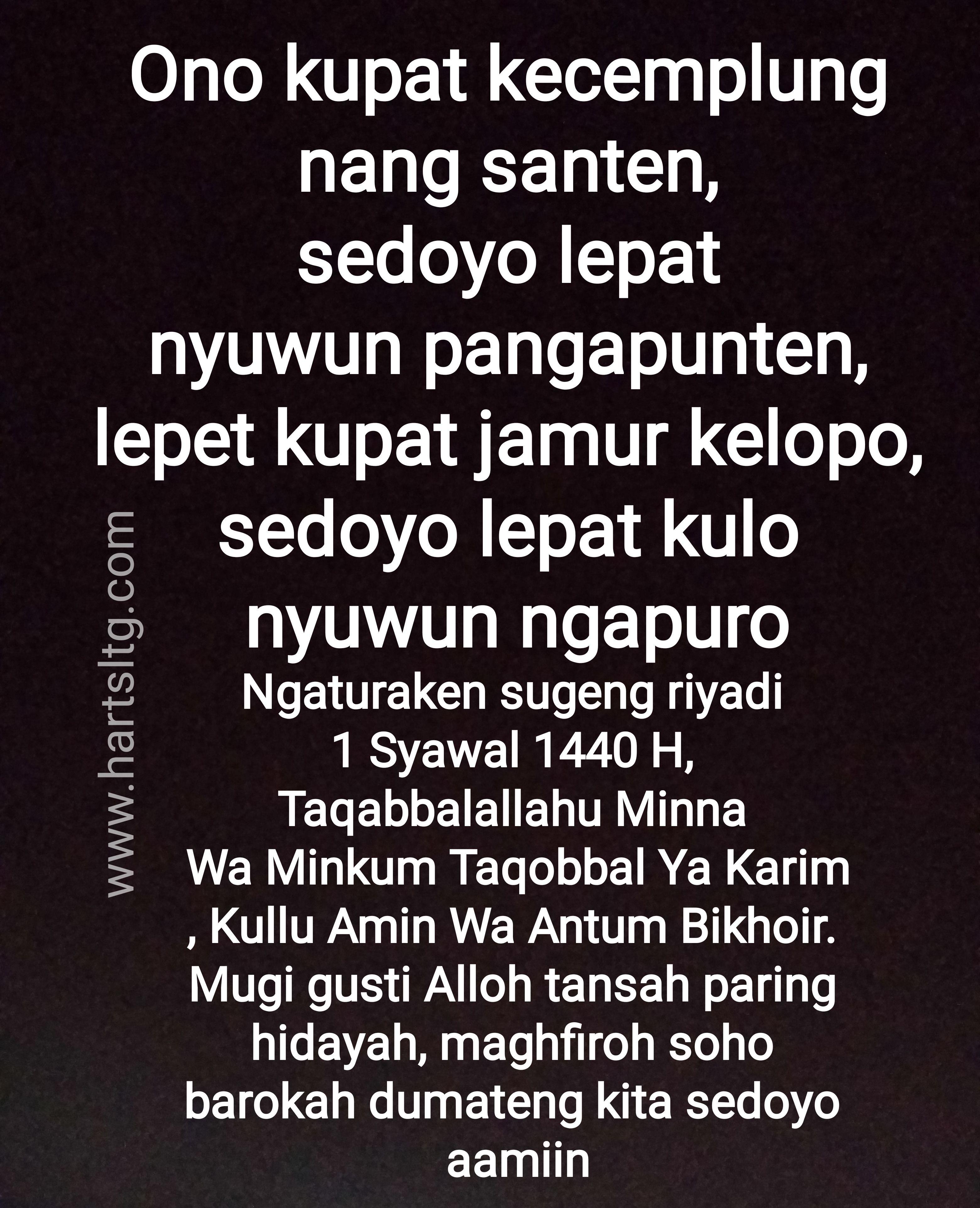 Ucapan Selamat Idul Fitri Bahasa Jawa : ucapan, selamat, fitri, bahasa, Ucapan, Fitri, Dalam, Bahasa, HijabFest