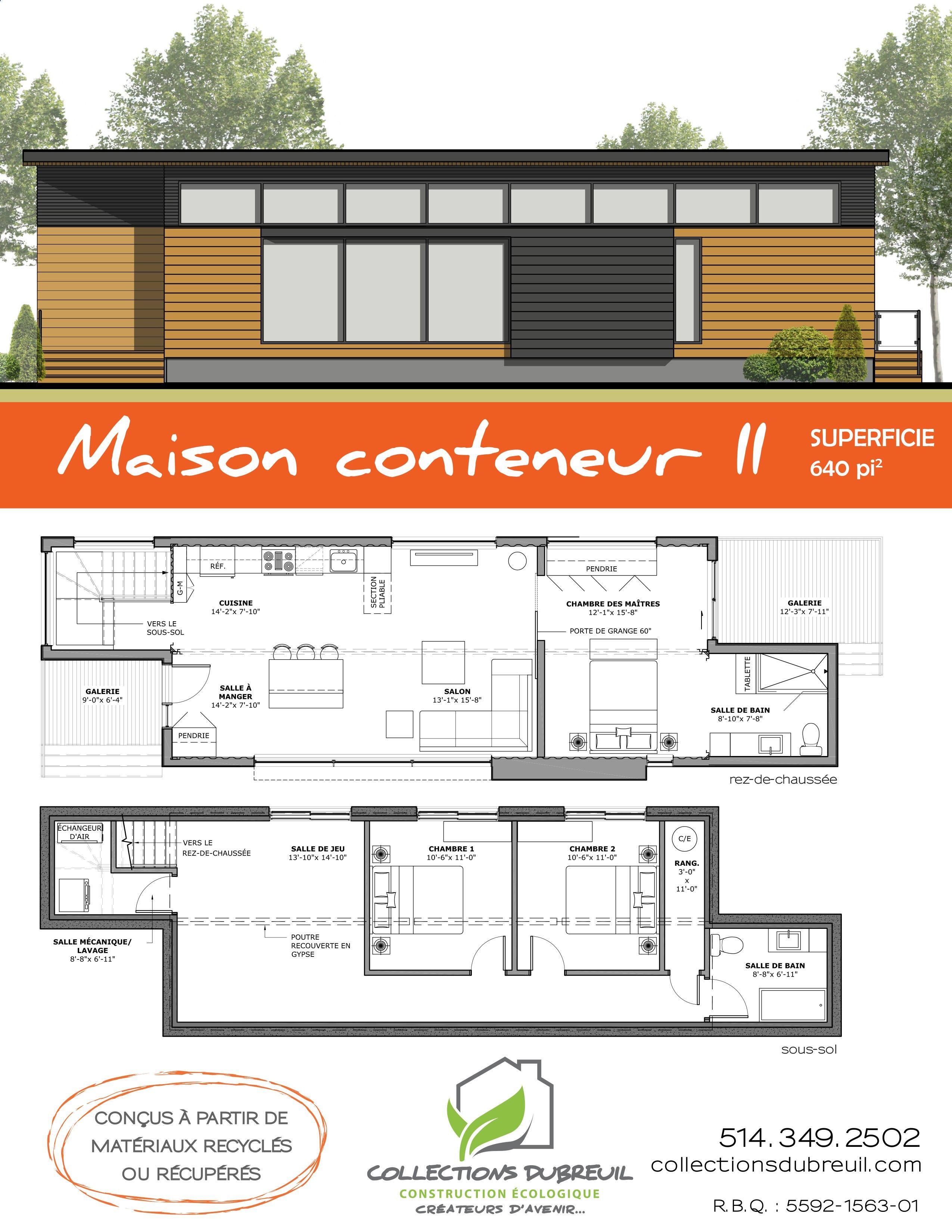 plan de maison r plus 2