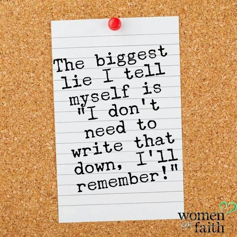 The biggest lie...