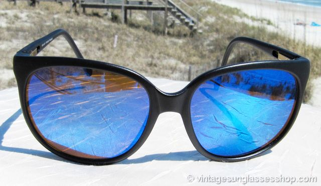 37a36d1bffb0 Vintage Revo 850 001 Blue Mirror Sunglasses at the Vintage Sunglasses Shop