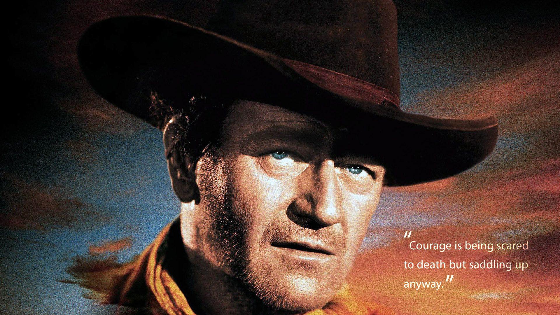 John Wayne Courage Quote Hd Wallpaper Fullhdwpp Full Hd Wallpapers 1920x1080 John Wayne Western Movies John Wayne John Wayne Quotes