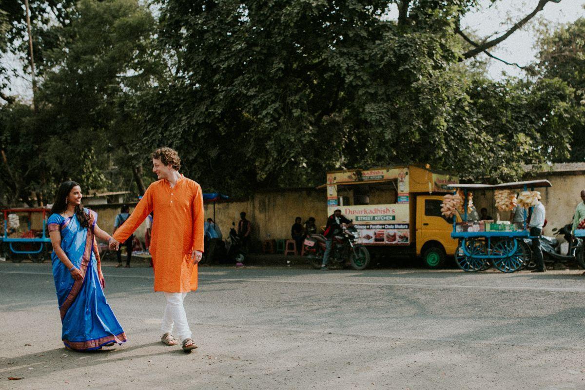 Eine Bunte Indisch Deutsche Hochzeit In Nagpur Mit Alina Atzler