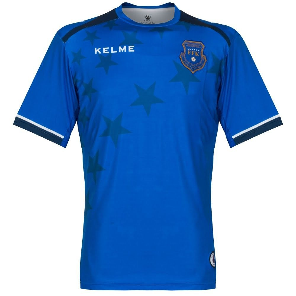 Kosovo Home Shirt 2017 2018