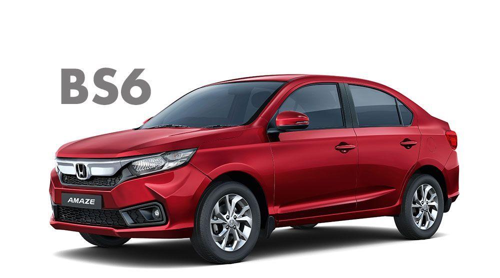 2020 Honda Amaze Bs6 Diesel And Petrol Variants Launched In 2020 Honda Honda City Honda S