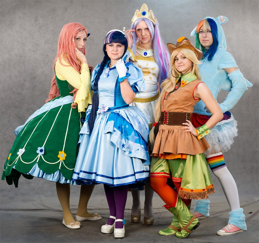 My Little Pony Frendship is Magic Costume design~Yutaka Oka. Rainbow and Celestia designed by cosplayers. My Little Pony cosplay  sc 1 st  Pinterest & My Little Pony cosplay by Asterateya.deviantart.com | Cosplay ...