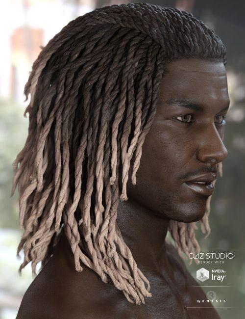 Diesel Hair For Genesis 3 Males Females 3d Models For Poser