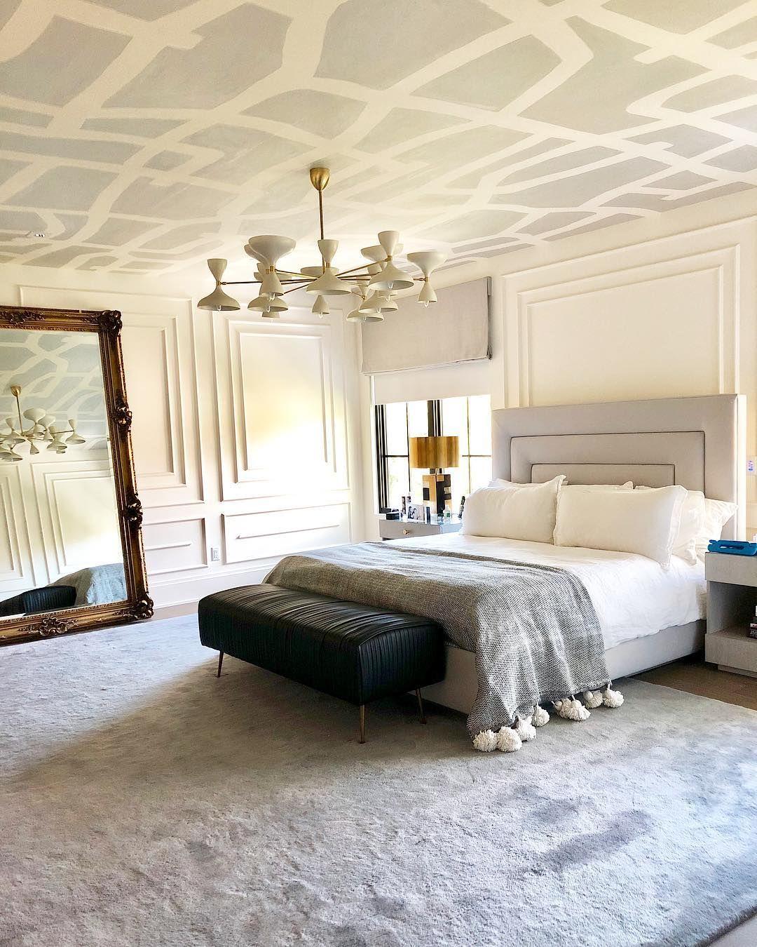 Michelle Gerson Interiors On Instagram Master Bedroom Design By Michellegersoninteriors Interiordesign Modern