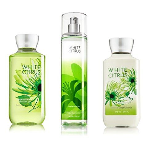 Bath And Body Works Signature Collection White Citrus Shower Gel
