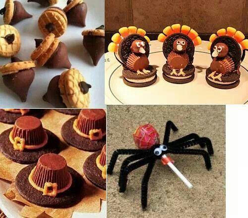 Cute halloween treats Recipes Pinterest Thanksgiving, Holidays