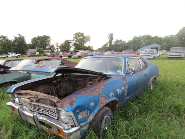 1971 Chevrolet Nova For Project Or Parts - Image 1 of 5