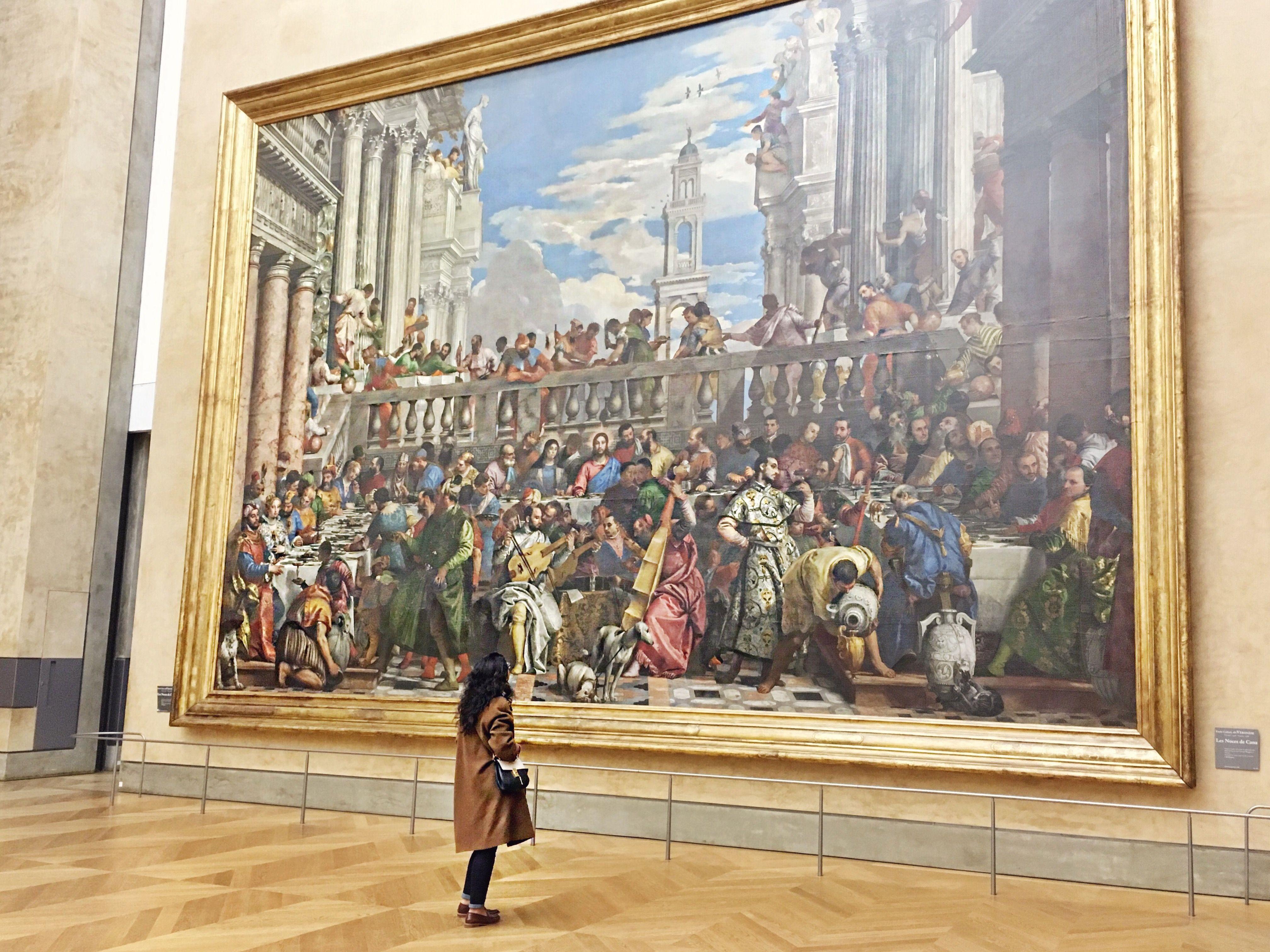 Les Noces de Cana, Musée du Louvre - Instagram @frenchiesinla | Musée du louvre, Musée et Louvre