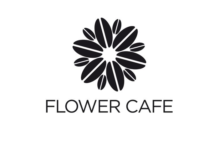 Identity for local boutique florist and coffee shop.