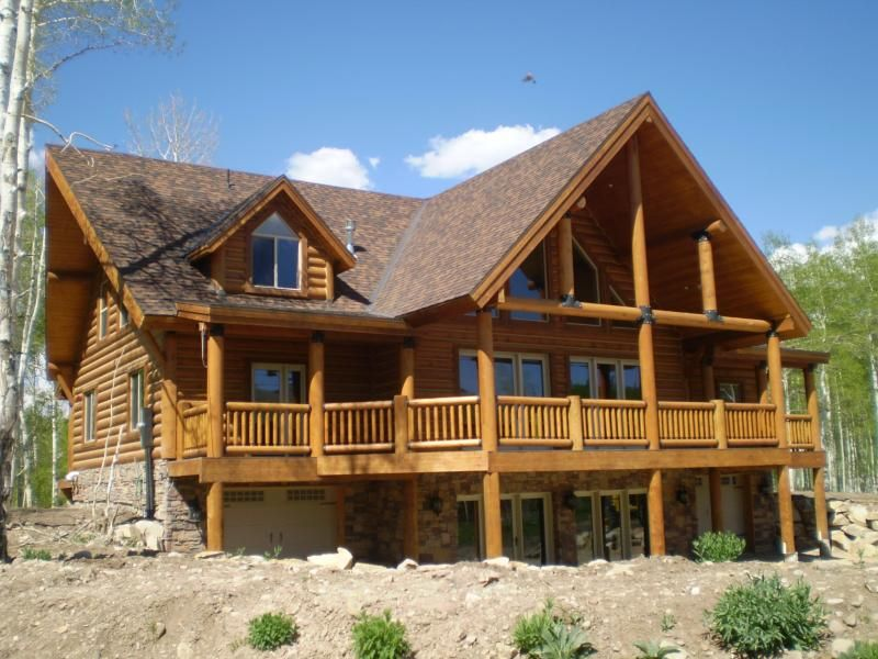 California Log Homes Are For The Family Gathering Our Pre Built Log Homes Are Easy To Assemble With Paneliz Log Home Floor Plans Pre Built Homes Log Home Plans