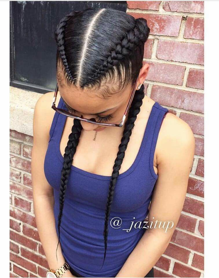 Pin By Erica Curry On Curls Cool Braid Hairstyles