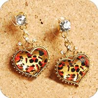 Cheetah Print Jewelry Accessories | wholesale -Jewelry accessories stud earring leopard...