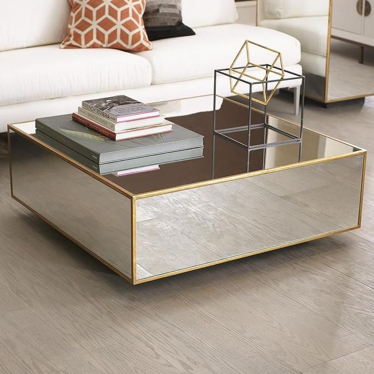 Coffee And Side Tables 60 Ideas For Your Living Room Mirrored