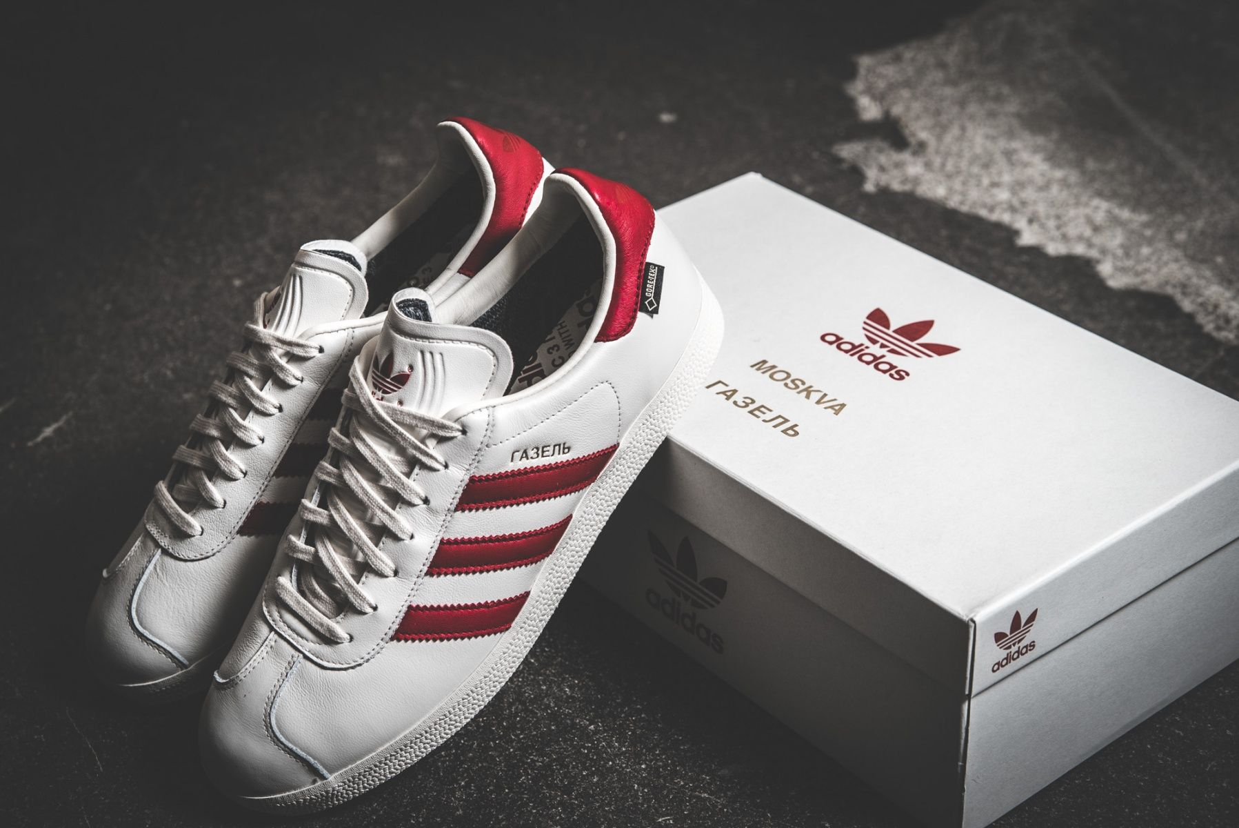 adidas also released the Moskva Gazelle in leather as part of the City  Series release.