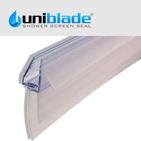 Uniblade Universal Shower Screen Seal For Straight Or Curved 4 10mm Glass Shower Screen Replacement Shower Doors Shower Door Seal