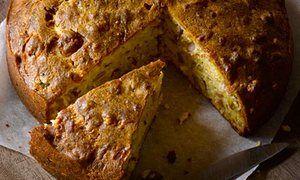 Ham and olive cake