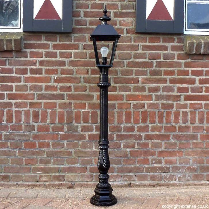 For Sale Miniature Victorian Lamp Post From Cast Iron