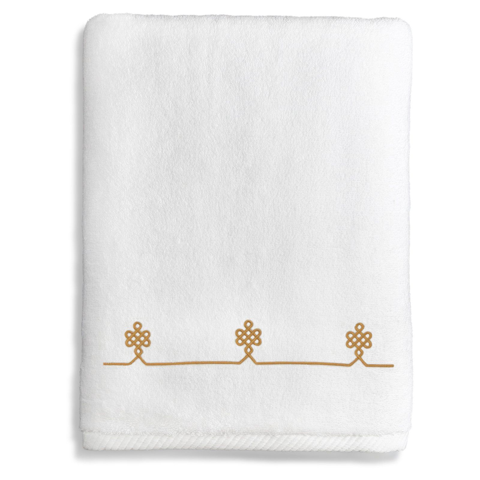 Linum Home Lattice Bath Towel - ST00-1BT-DIA-10