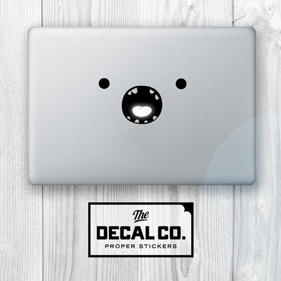 Finn the human decal available on etsy