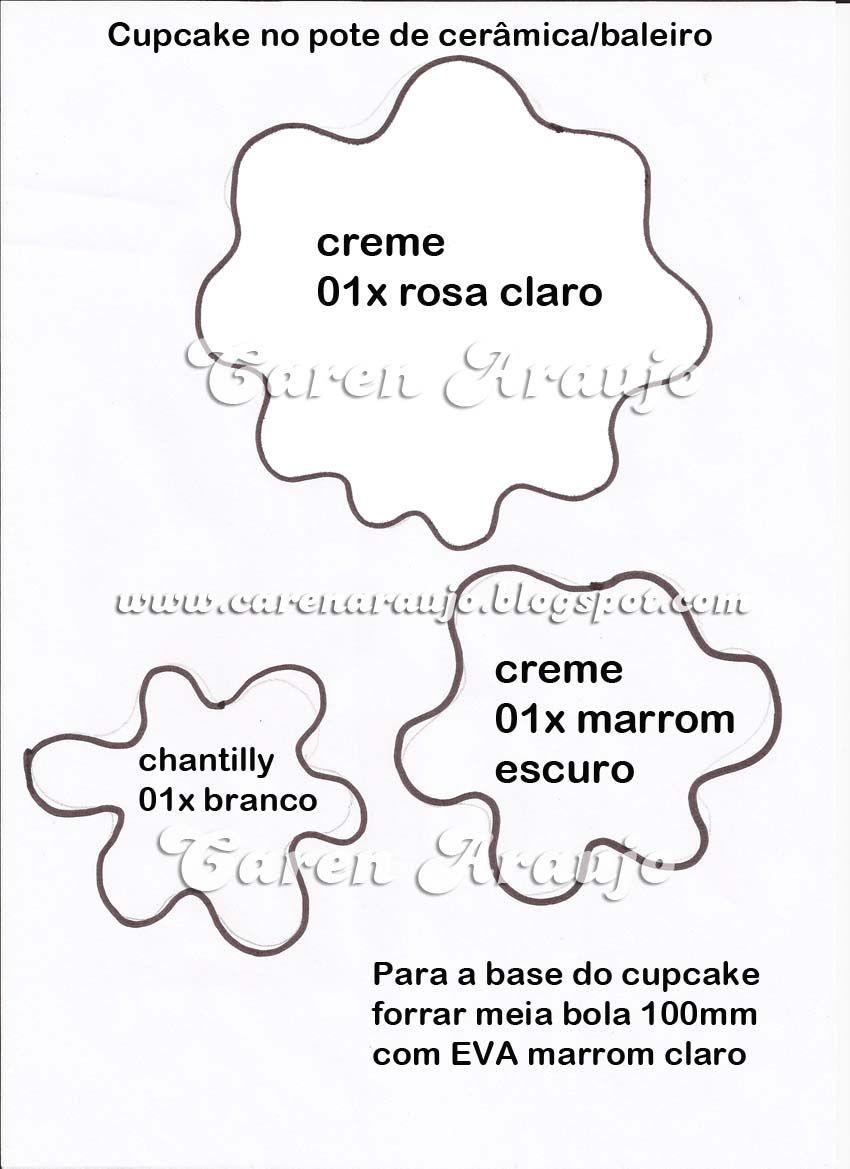 cupcake pap con moldes de karen araujo | DIYS | Pinterest | Vorlagen ...