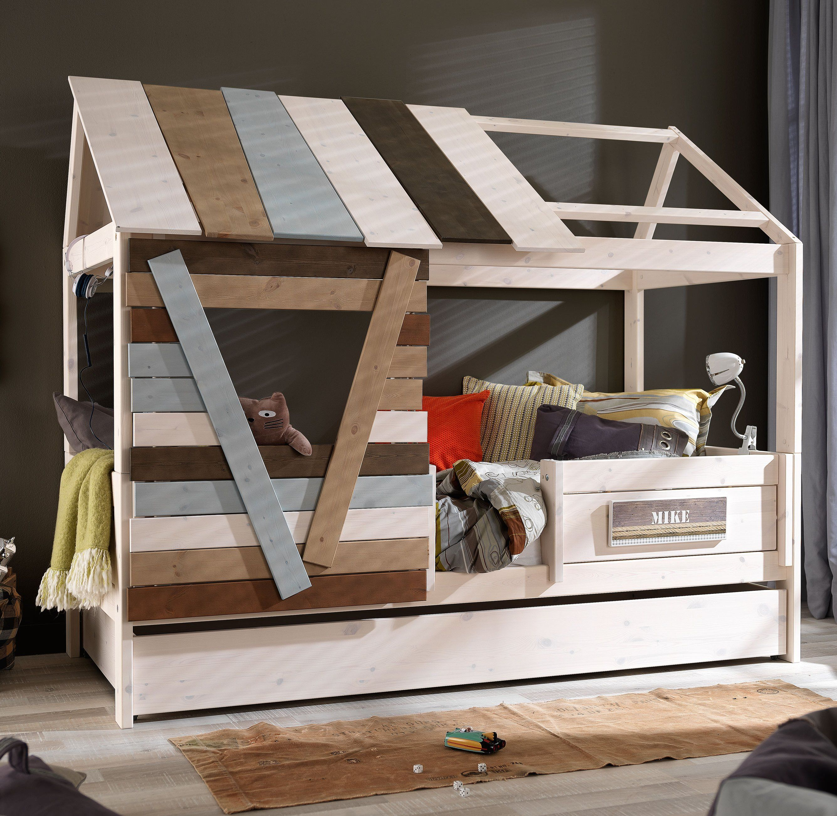Lifetime Kinderbett Tree House On A Bed Solid Wood By Lifetime Kidsrooms Kids
