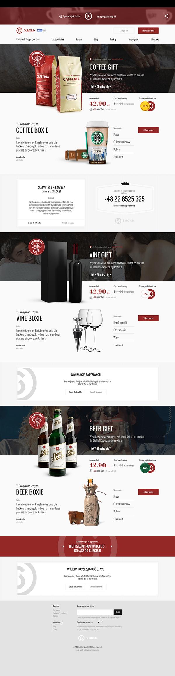Subclub Website On Web Design Served Web Design Web Layout Design Web Design User Interface