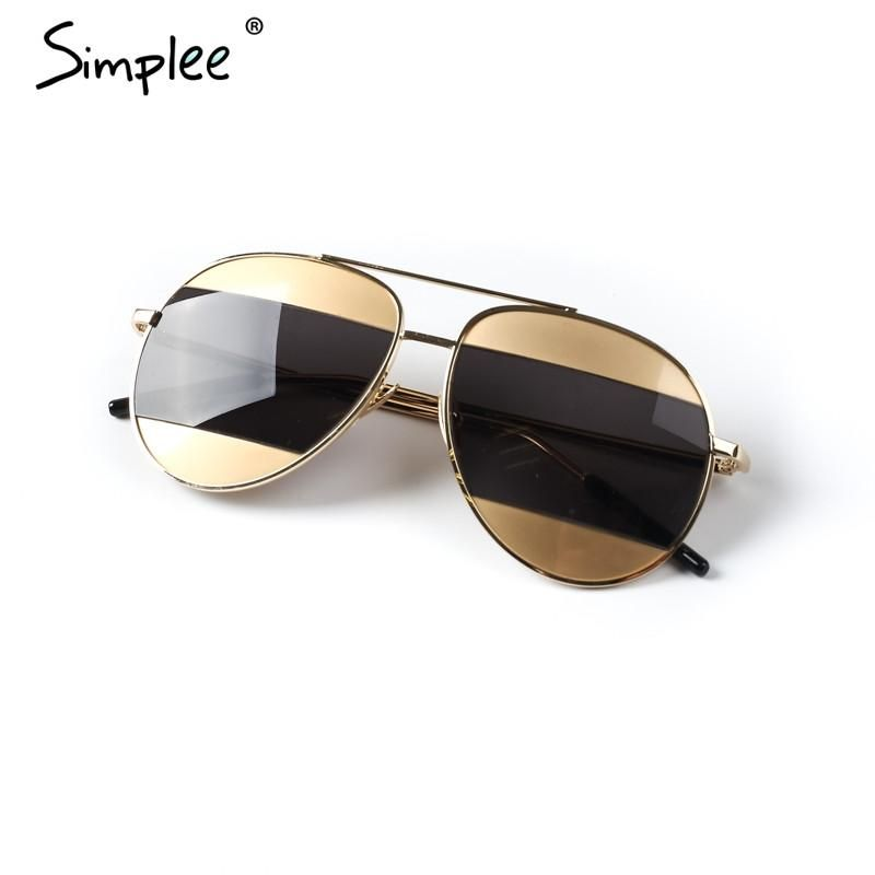 1d4be04a0218 Simplee Oval female anti-reflective sunglasses women Cool lunette steampunk  sun glasses Vintage ladies sunglasses