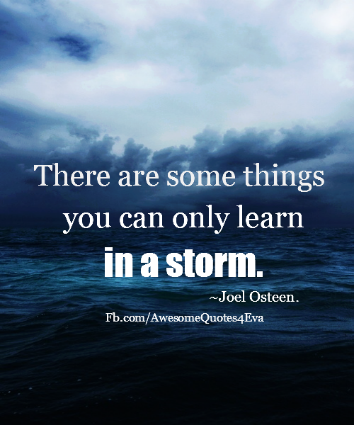Image result for joel olsteen - learn from a storm