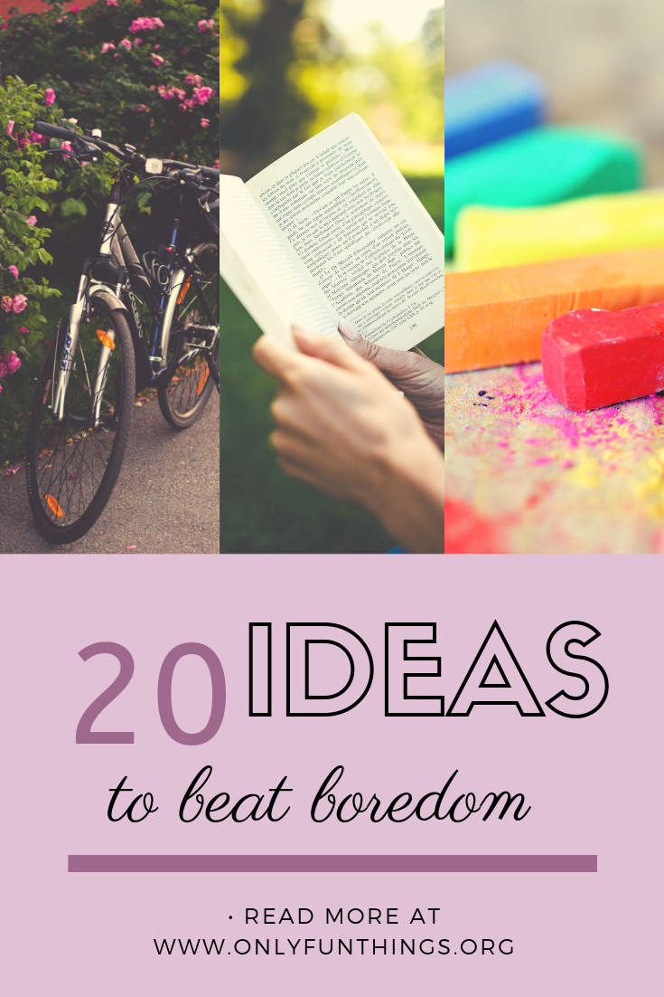 20 Super Fun Things to Do When Youre Bored! | Things to