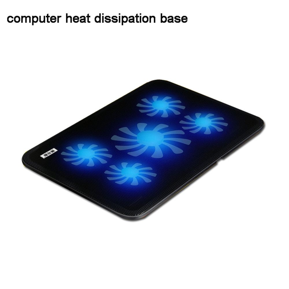 Usb Notebook Cooler Cooling Laptop Cooler Pad 5 Fans For Laptop Pc