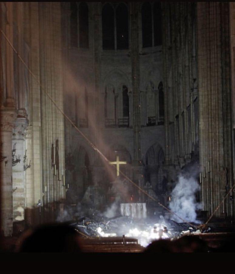 Notre Dame de Paris Fire, April 15, 2019 Notre dame