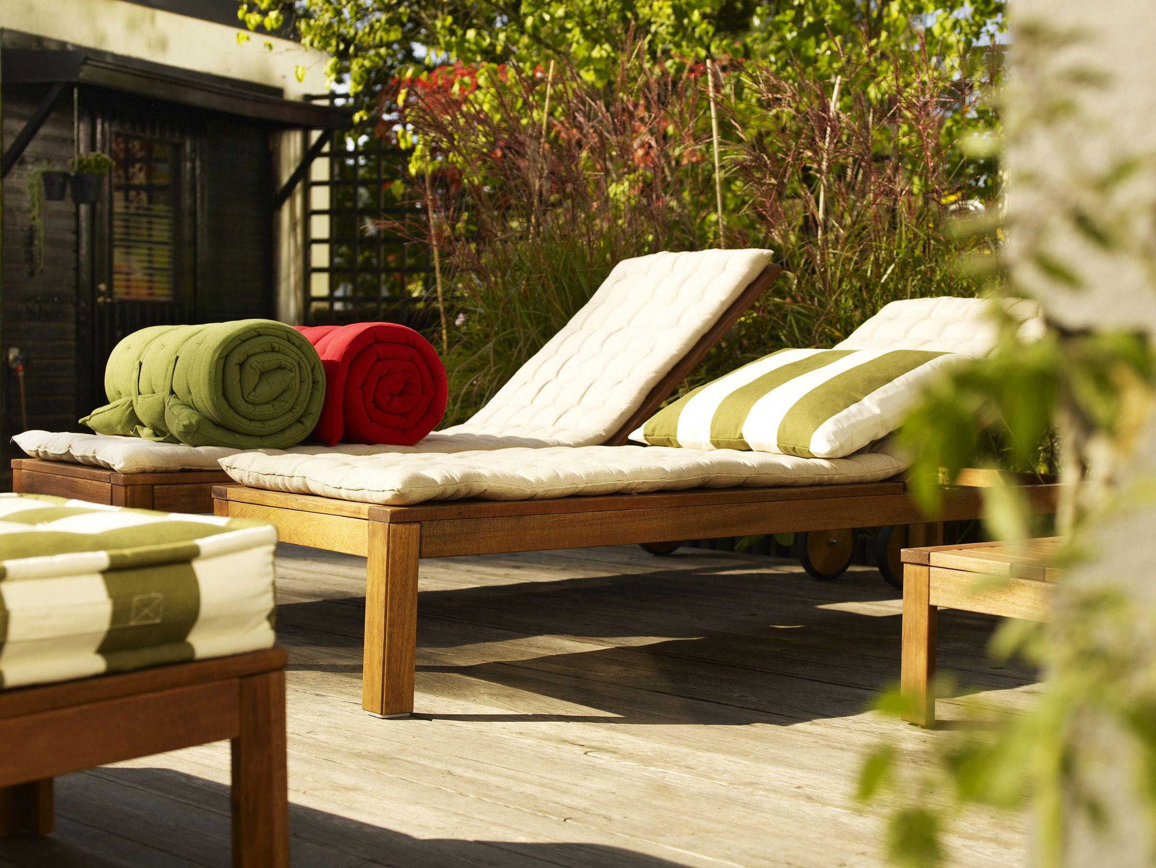 ikea pplar gartenliege garten m bel balkonm bel und garten. Black Bedroom Furniture Sets. Home Design Ideas