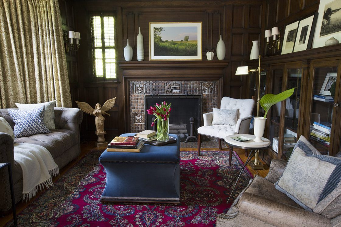 Elegant Traditional Historic Home Renovation By Des Moines Interior Designer  Rebecca Cartwright