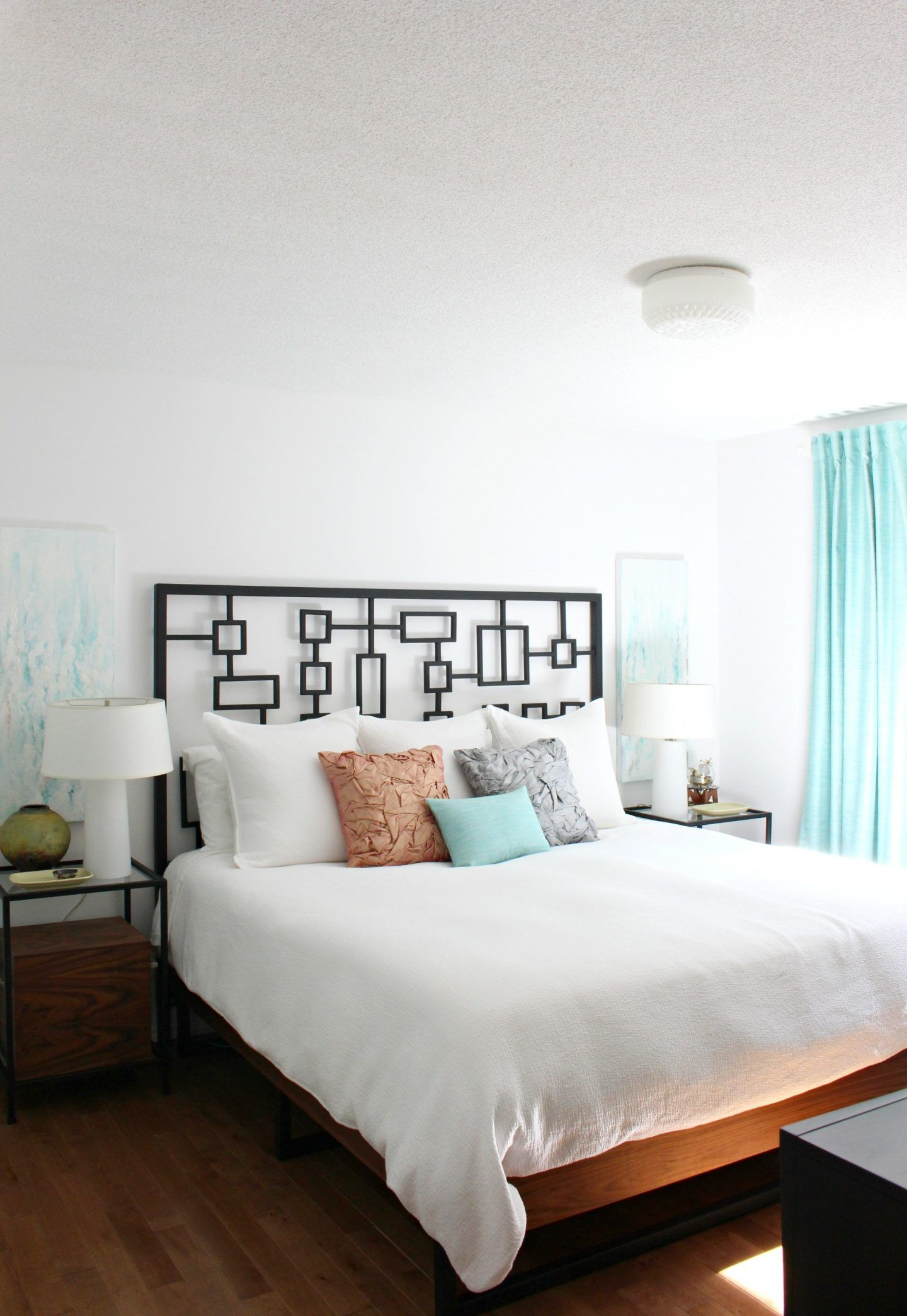 Peaceful Bedroom Decor Makeover With Muted Pastels Peaceful