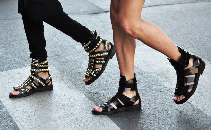 Photo of gladiator sandaler av hubert james marcel taffin de givenchy