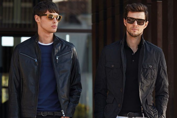 Lufian Black And Grey 2016 Men's Lookbook