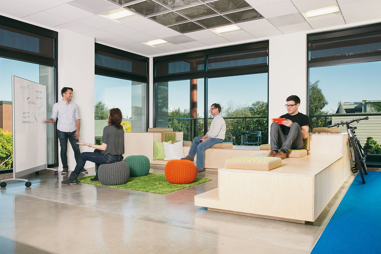 here we have a beautiful office design of palo alto based jive software by - Interior Design Palo Alto